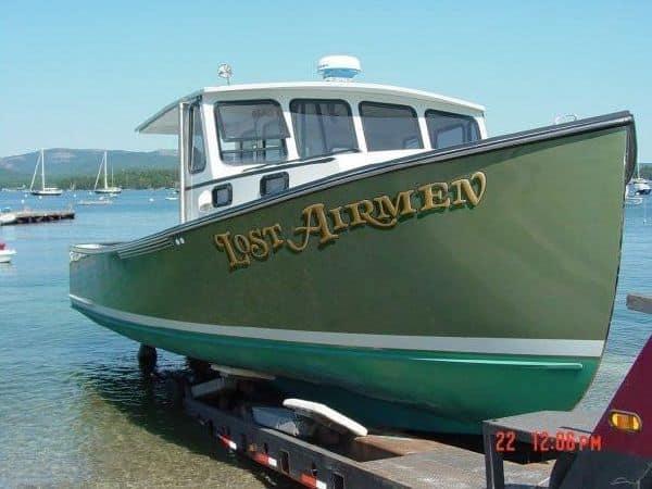 35 RP Lobster Boat