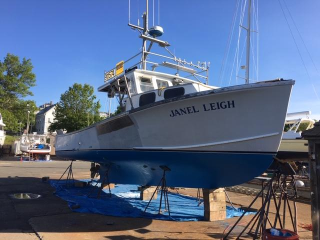 42' Duffy Lobster Boat For Sale - Fed Area 1 Permit Extra