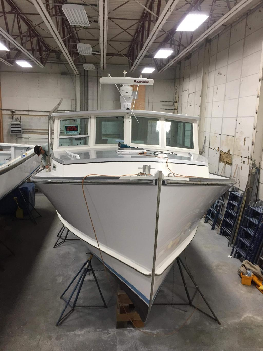 35' Mitchell Cove Lobster Boat For Sale