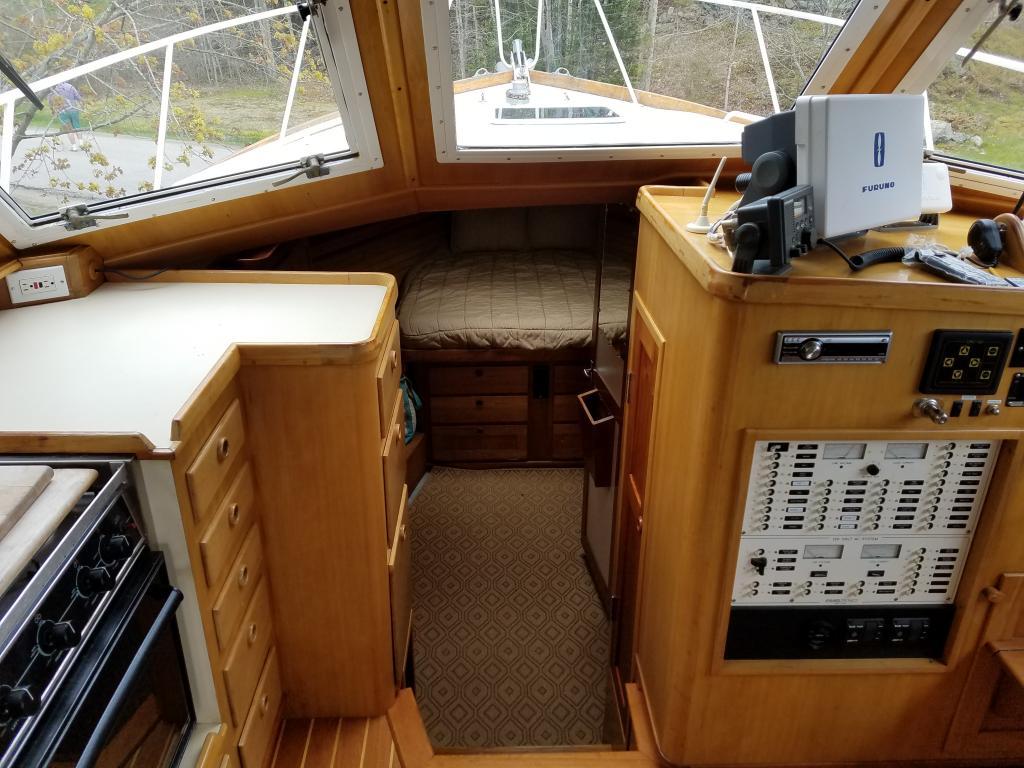 36' Atlantic Duffy Downeast Cruiser For Sale