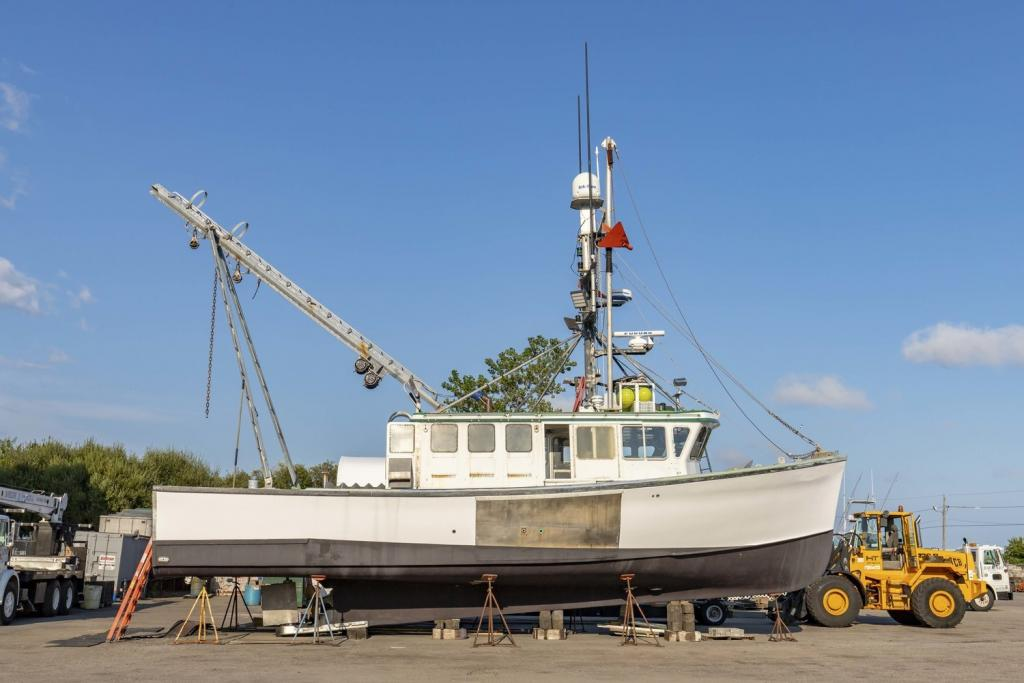 50' Dixon Offshore Scallop Dragger Lobster Boat For Sale