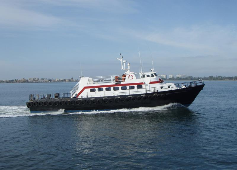 85' Aluminum Crew Passenger Boat For Sale