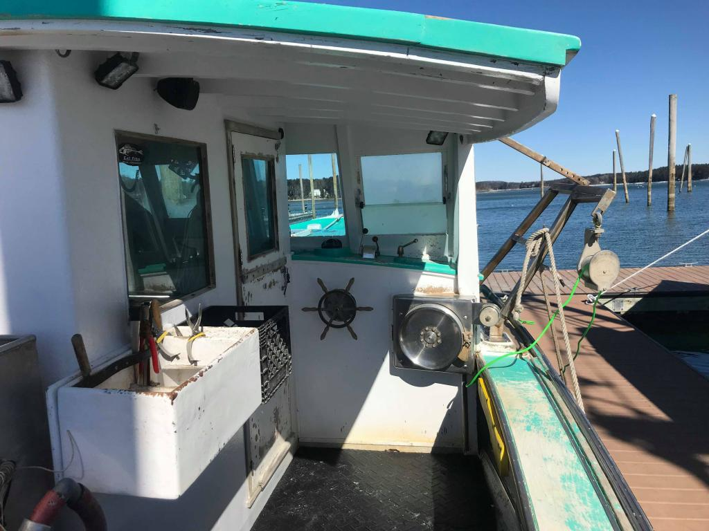 40 Osmond Beal Lobster Boat For Sale