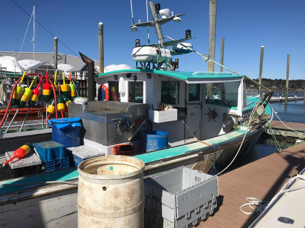 40 Osmond Beal Lobster Boat For Sale