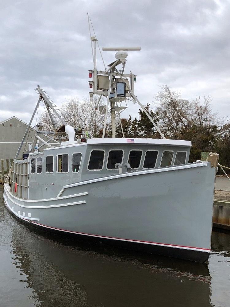 42' Wedgeport Novi Lobster Boat - Scallop Dragger - Gillnetter For Sale