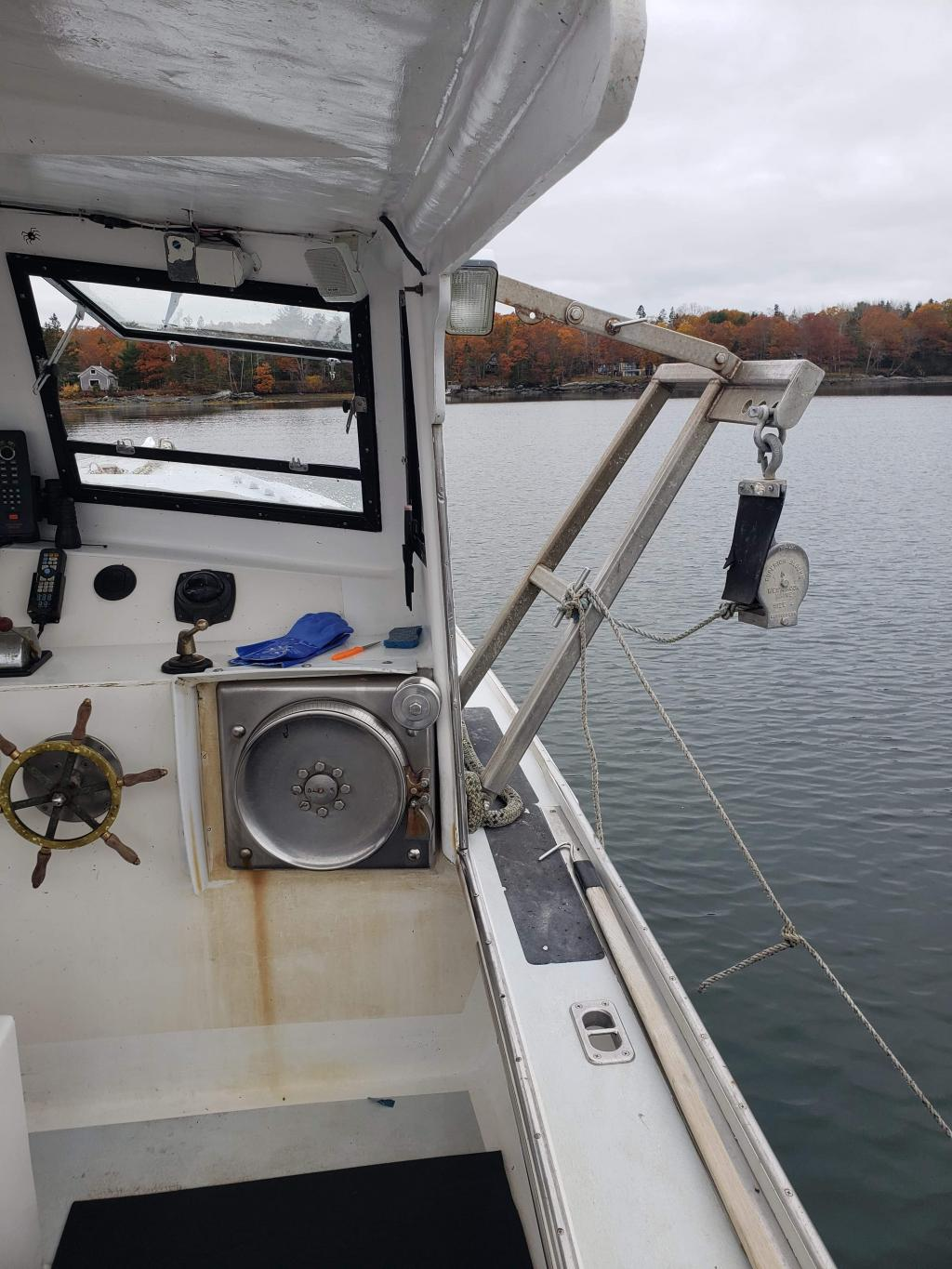 36' Crowley Beal Lobster Boat For Sale