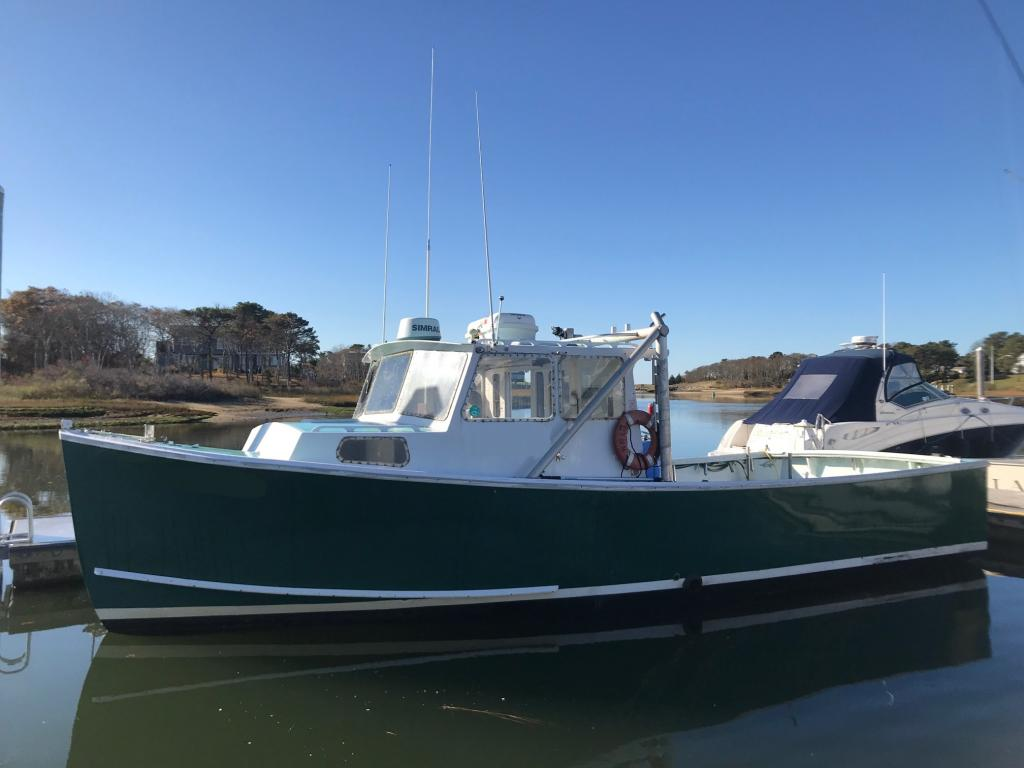 35' RP Tuna Charter Lobster Boat For Sale