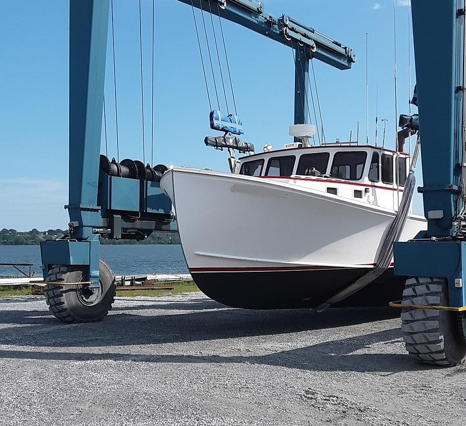 42' Wesmac Lobster Boat For Sale