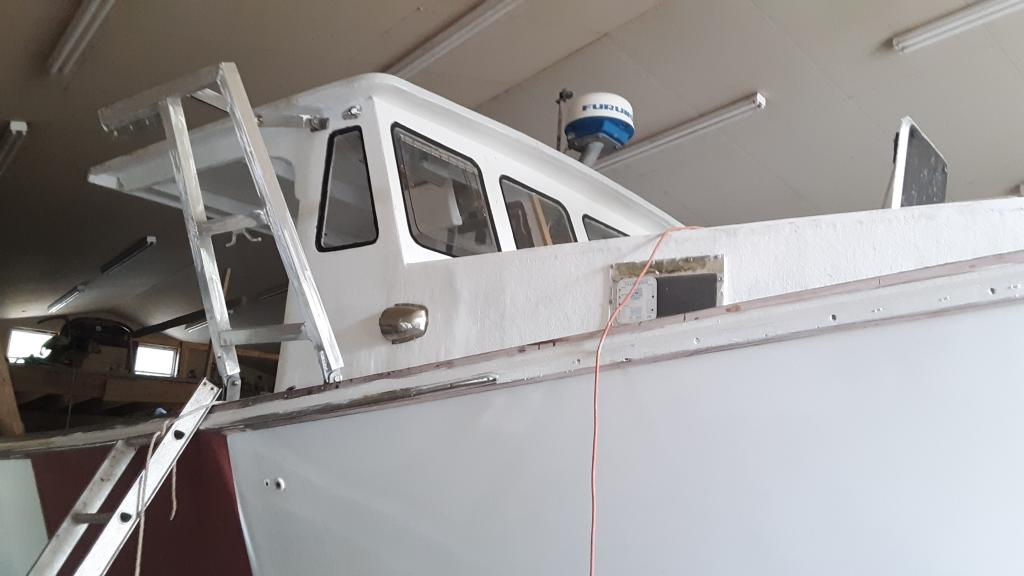 33' Young Brothers Lobster Boat For Sale