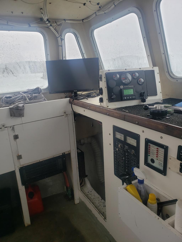 36' BHM Lobster Boat 1995 - John Deere 400 hp For Sale