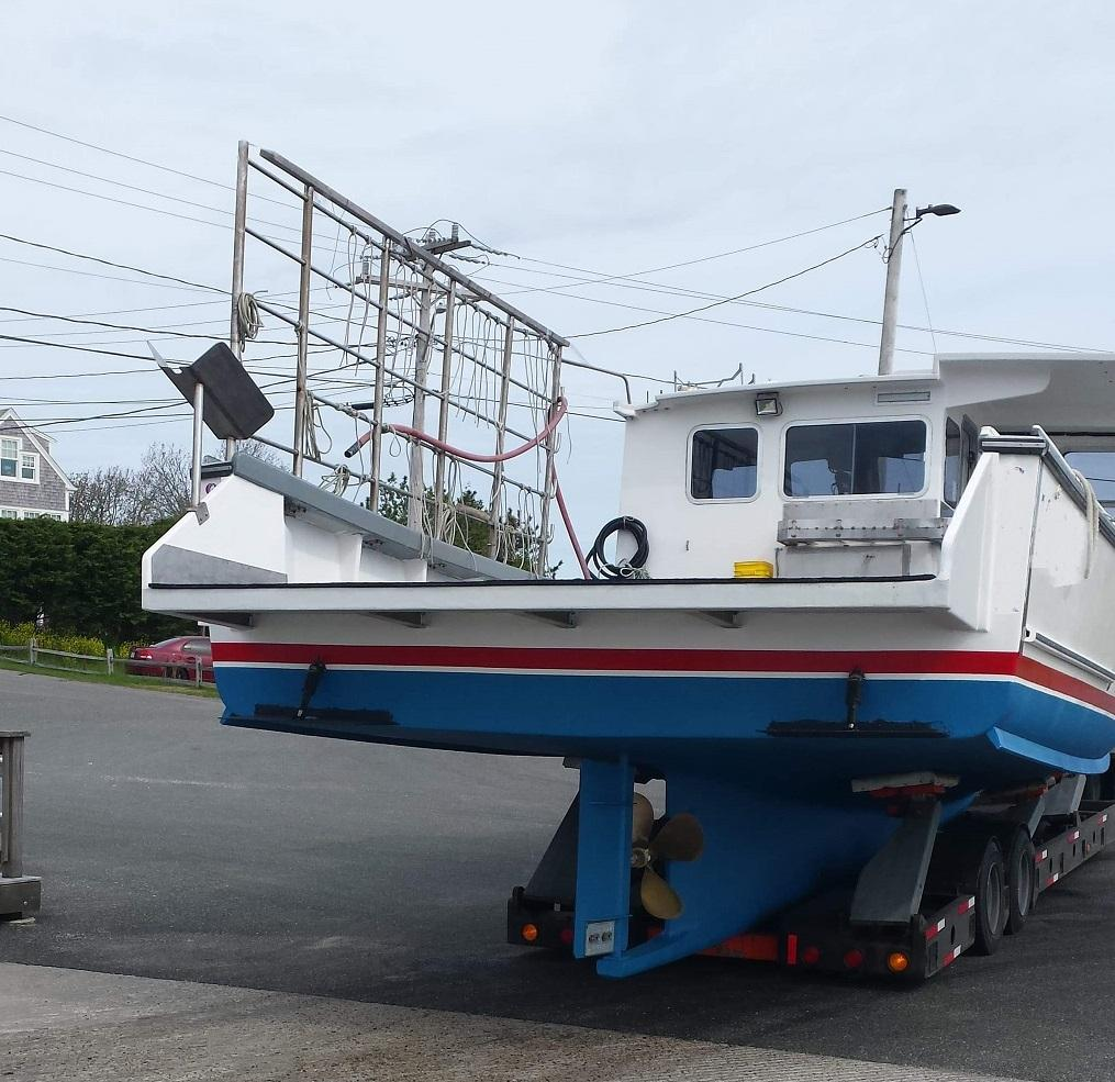 38 South Shore Lobster Boat 1997 For Sale