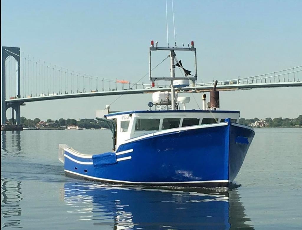 42' x 17' Greenwood Novi Lobster Boat For Sale