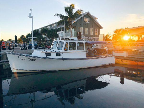 31' Duffy Downeast Lobster Charter Boat For Sale