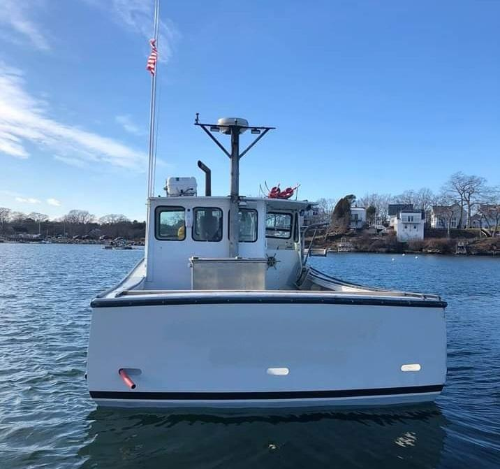 38' Holland Lobster Boat For Sale