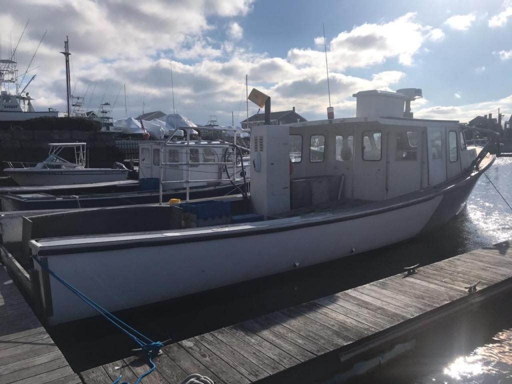40' Four Ports Novi Lobster Boat For Sale
