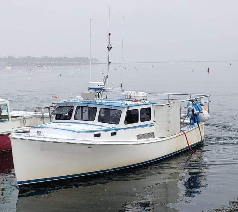38' Holland Lobster Boat For Sale