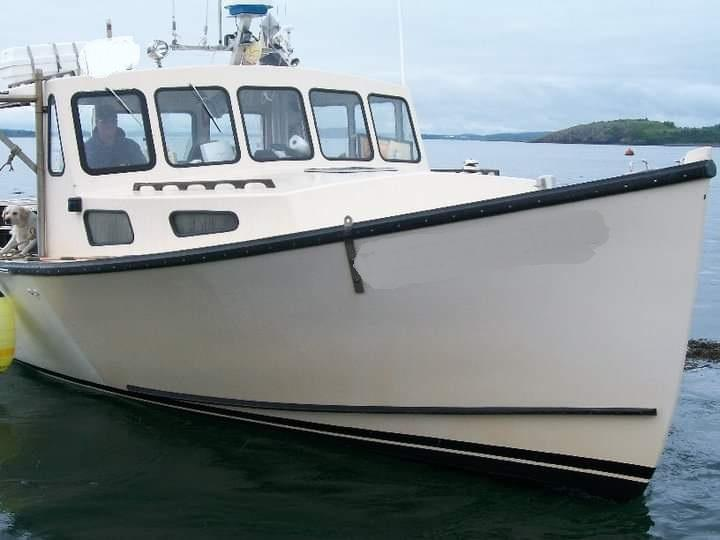 38' H&H Osmond Beal Lobster Boat For Sale