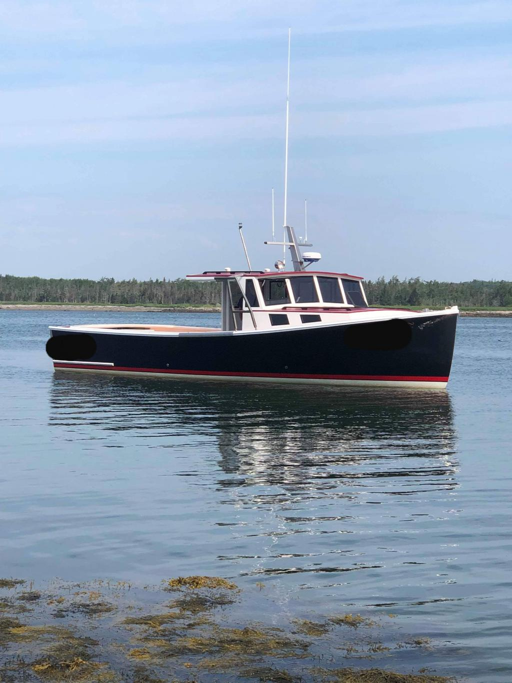 38' Calvin Beal Lobster Boat For Sale