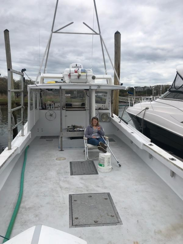 36' Harris Lobster Boat For Sale