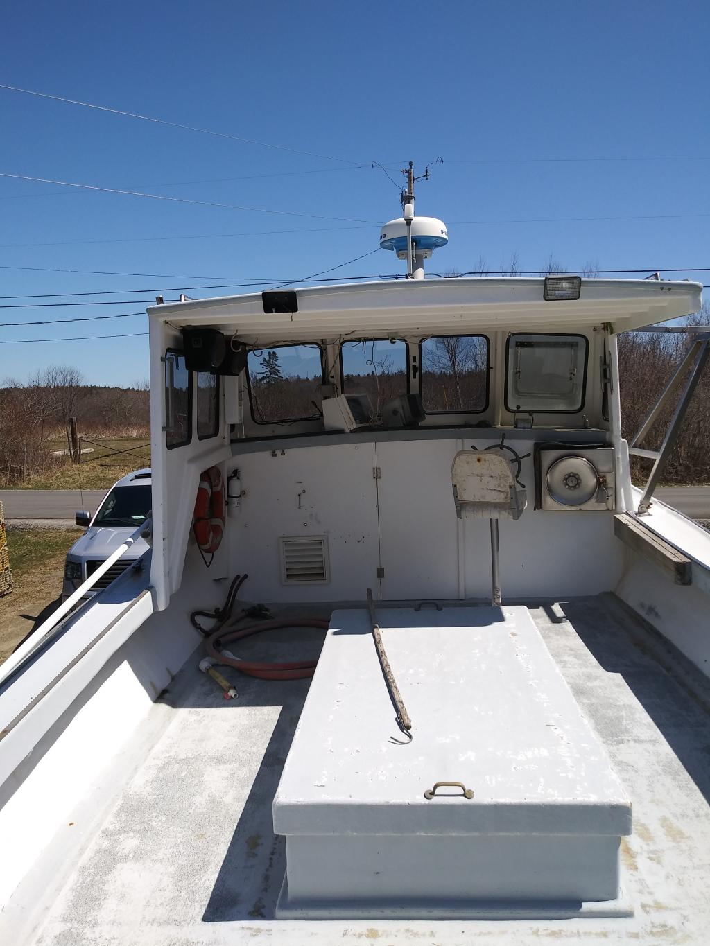 32' Crusader Lobster Tuna Boat For Sale