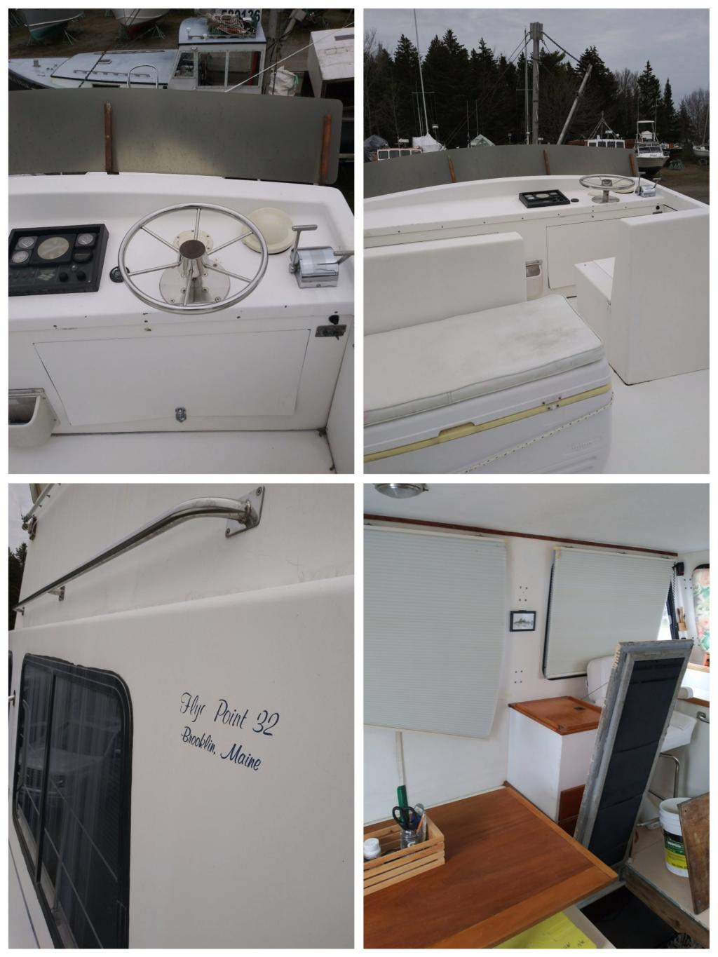 32' Flye Point Marine Downeast Flybridge Cruiser For Sale