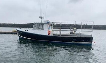 37' Bruno Stillman Lobster Boat For Sale