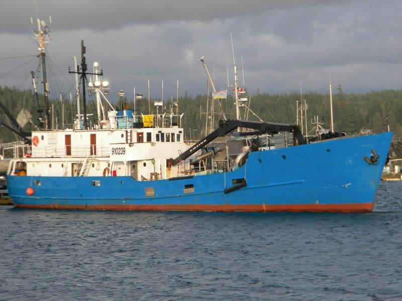 119' General Cargo Single Decker Fish Carrier Mini Freighter For Sale