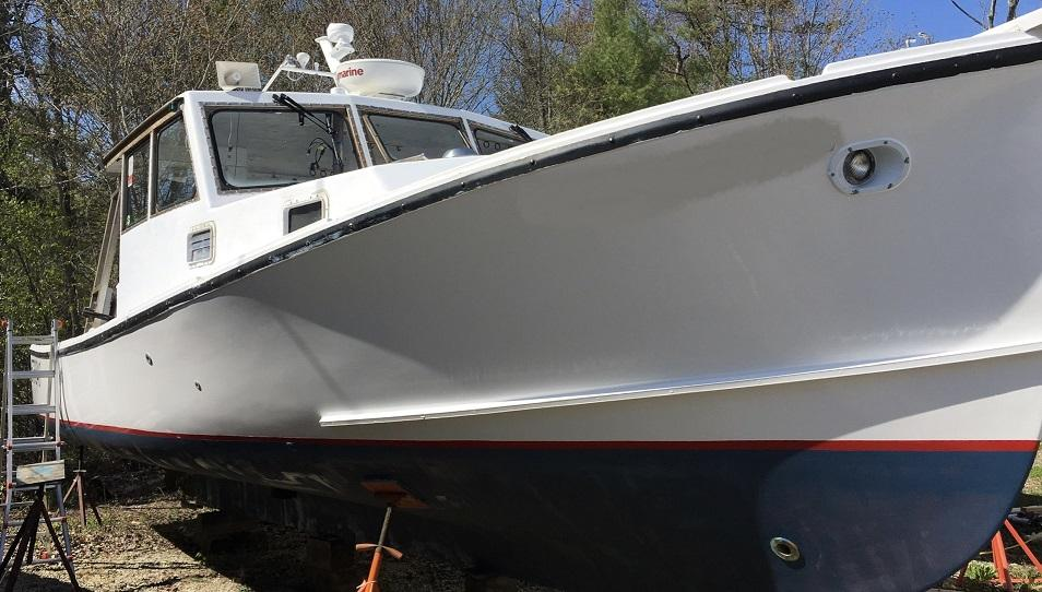 35' Bruno Stillman Lobster Tuna Charter Boat For Sale