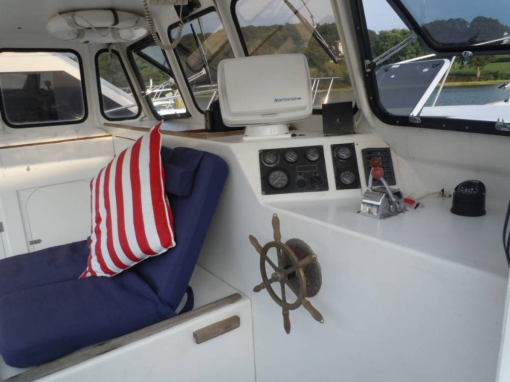 35' Duffy Downeast Lobster Yacht For Sale