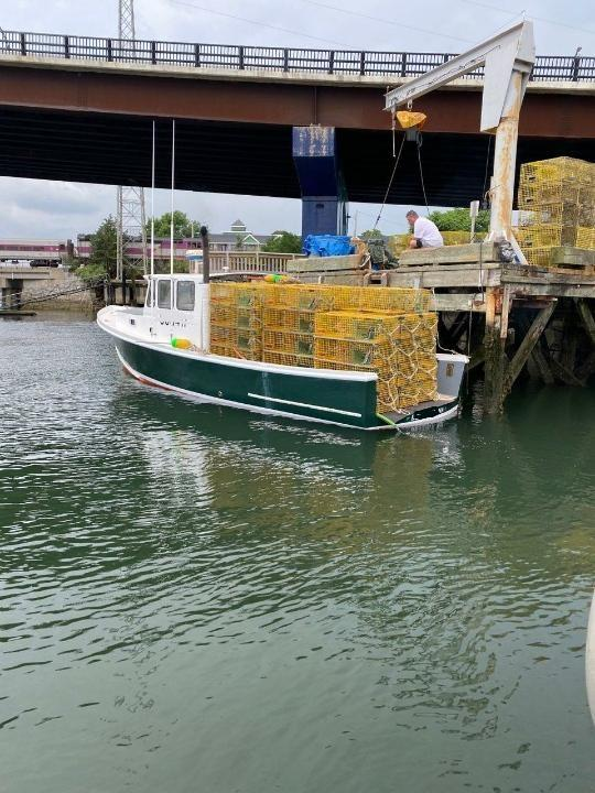 34' Webbers Cove Lobster Boat For Sale