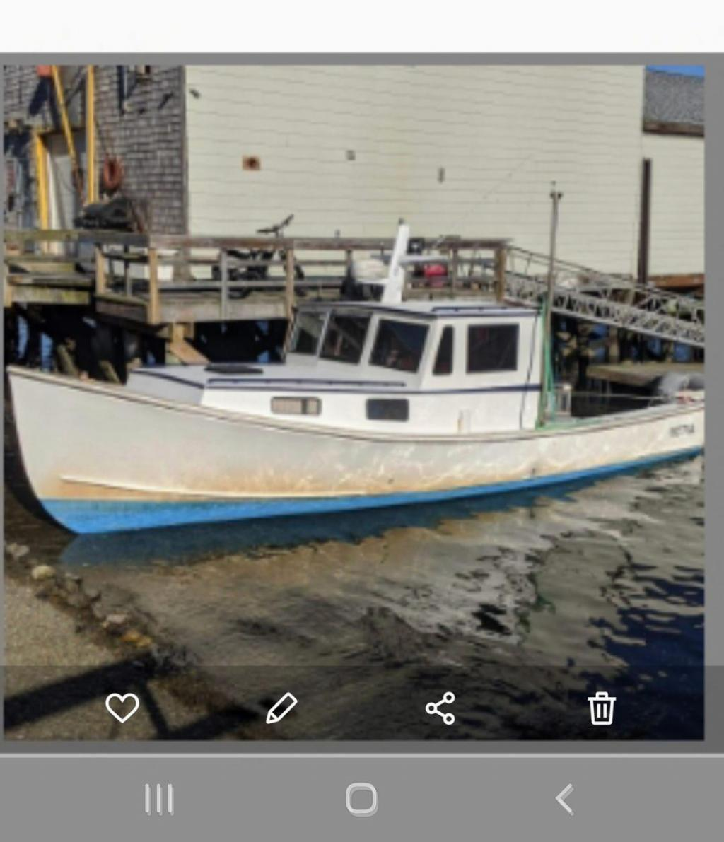 35' Duffy Lobster Boat For Sale
