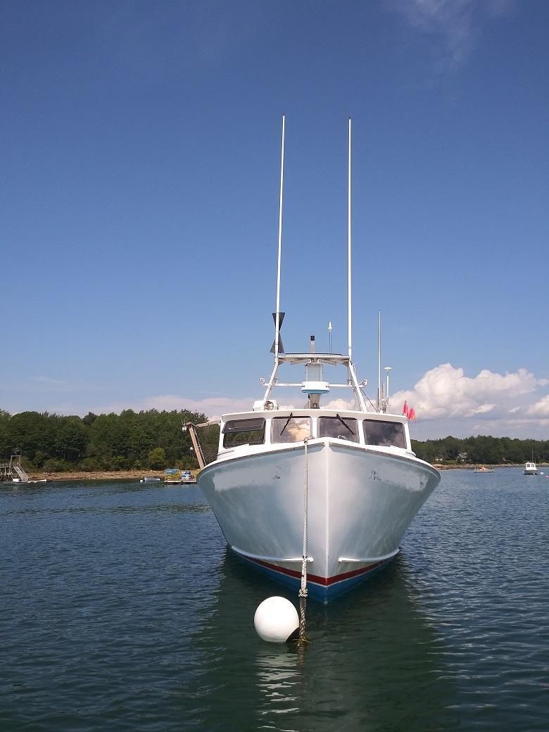 45' MDI Lobster Boat For Sale