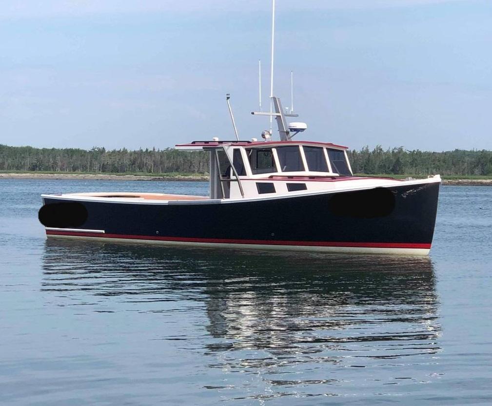 38' Calvin Beal Lobster Boat For Sale