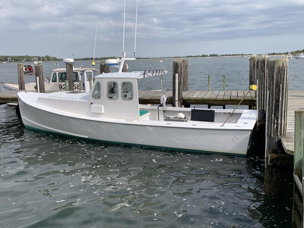 30' South Shore Lobster Boat 2002 - Yanmar 370 HP For Sale