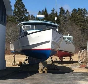 33' Crowley Beal Lobster Boat 2016 - Cummins 425 HP For Sale
