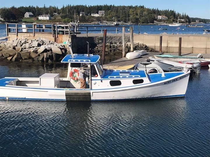 33' Jonesport Lobster Boat For Sale