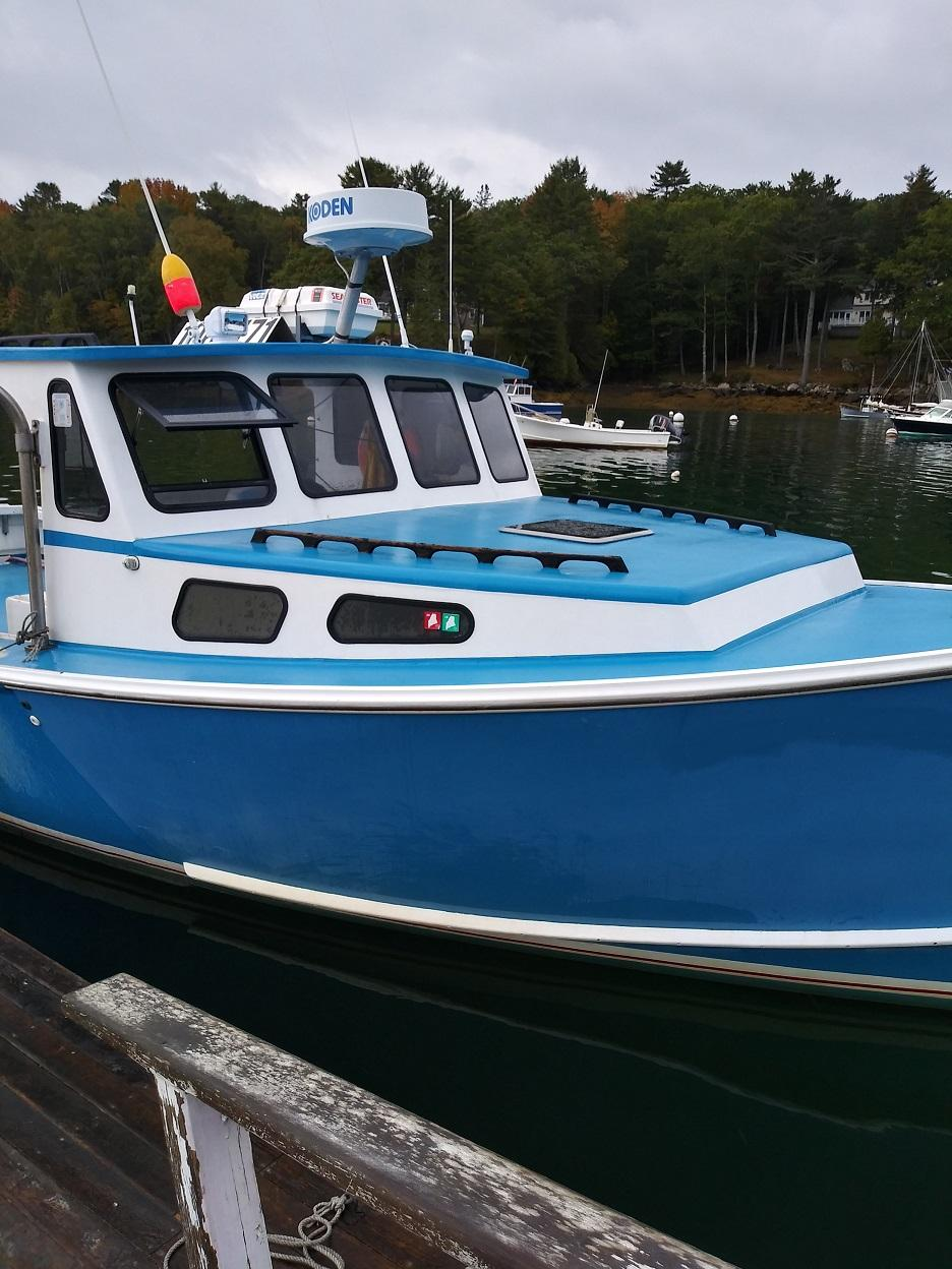 34' Libby Lobster Boat 1998 - 700hp Iveco For Sale