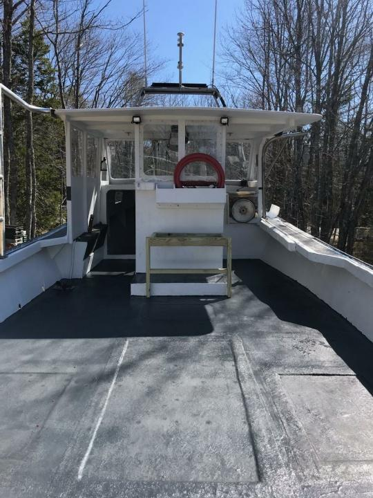 34' Webbers Cove Lobster Boat 2001 For Sale
