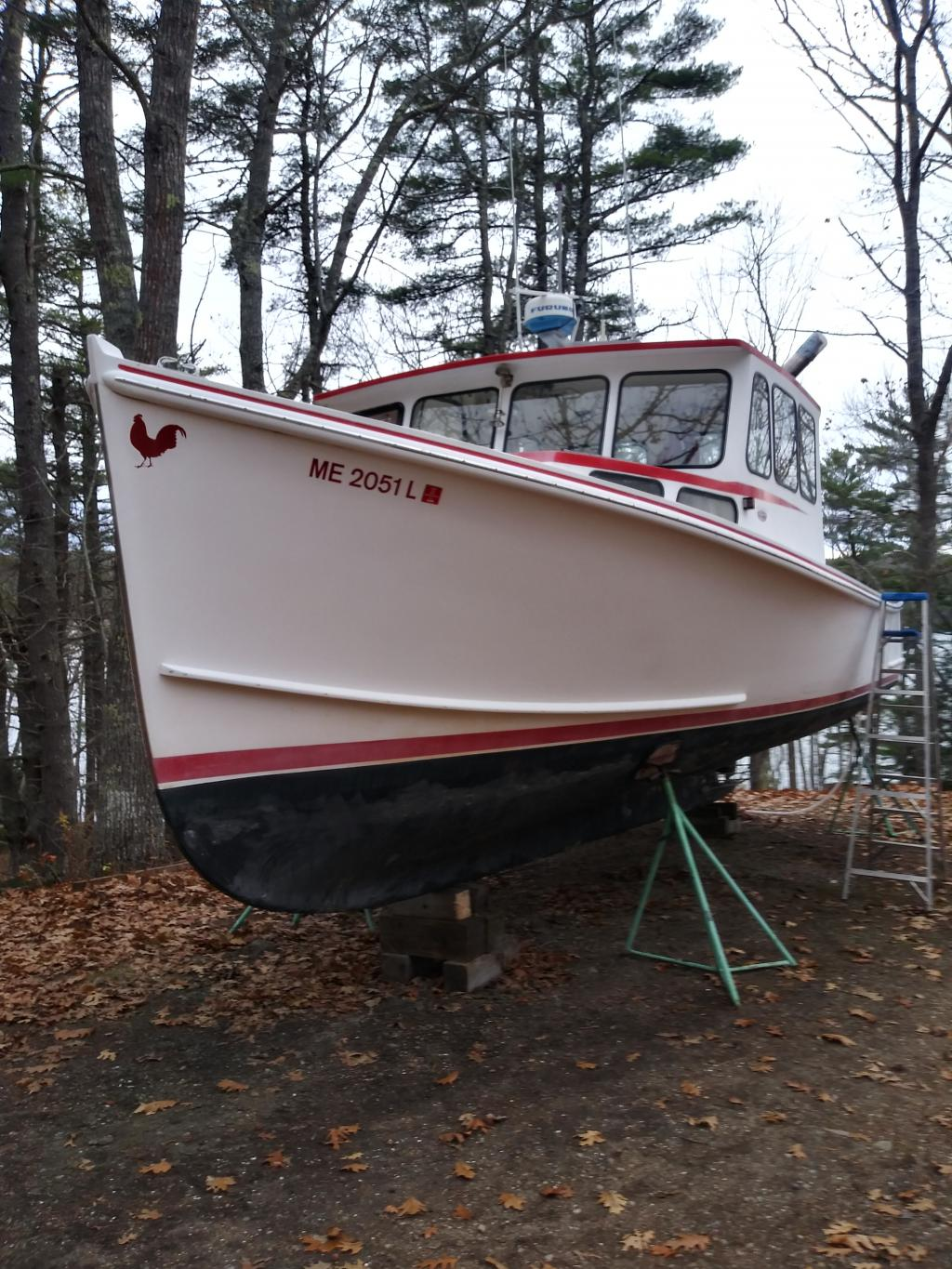 34' H&H Lobster Boat 2000 - Cat 420 HP For Sale