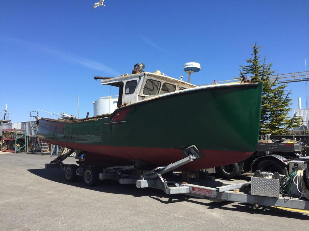 35' Atwood Novi Lobster Boat 1988 - Cummins 215 HP For Sale