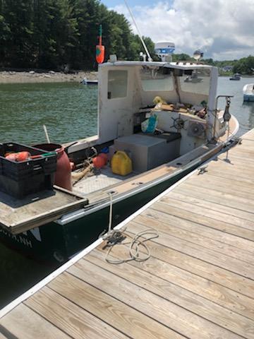 22' Sisu Lobster Boat 1978 - John Deere 135 HP For Sale