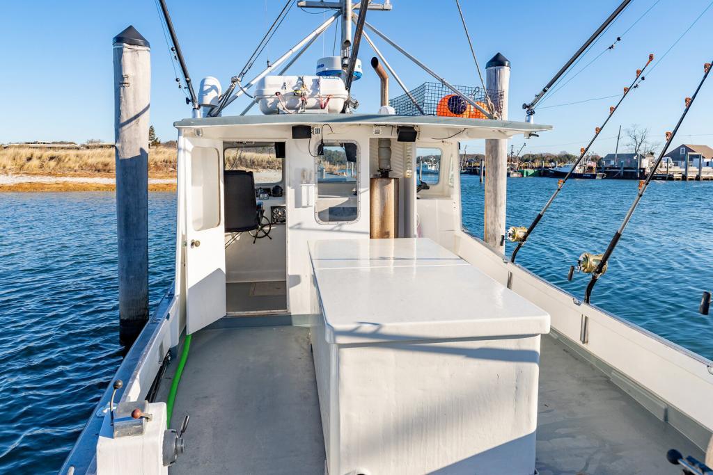 34' Stanley Greenwood Lobster Tuna Boat 1982 - Cummins 315 HP For Sale