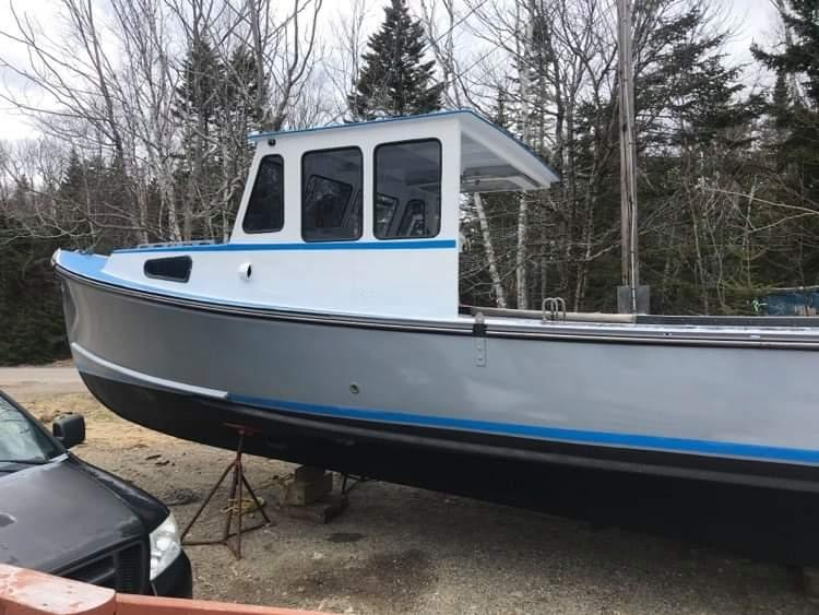 35' Duffy Lobster Boat 1997 - Iveco 420 HP For Sale