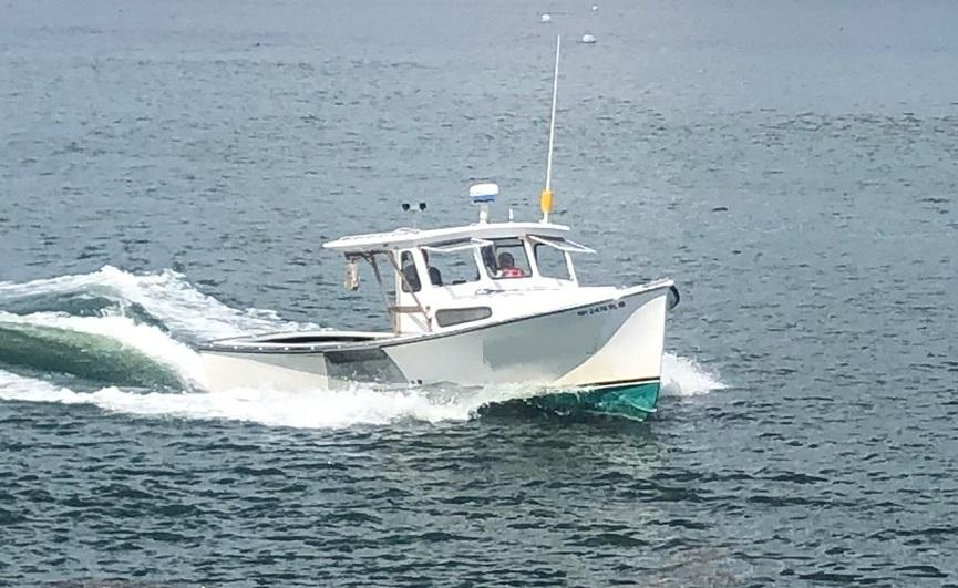 26' Webbers Cove Lobster Boat 1993 - John Deere 115 HP For Sale