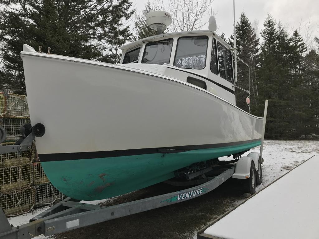 23' Crowley Beal Lobster Boat 2000 - Yamaha 150 HP 4-Stroke For Sale