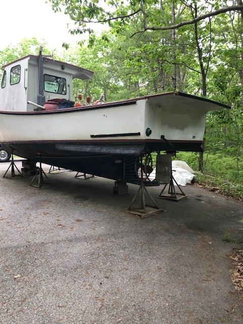 27' Rosborough Lobster Boat 1986 - Chevy 292 For Sale