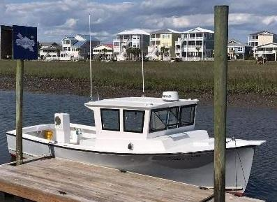 30' Sisu Lobster Boat 1982 - Perkins 220 HP For Sale