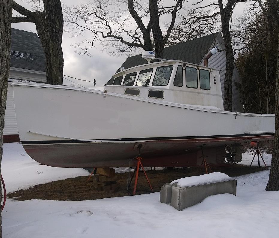 34' Wayne Beal Lobster Boat 1994 - Scania 450 HP For Sale
