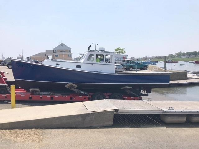 34' Arno Day Lobster Boat 1966 - Ford Lehman 135 HP For Sale