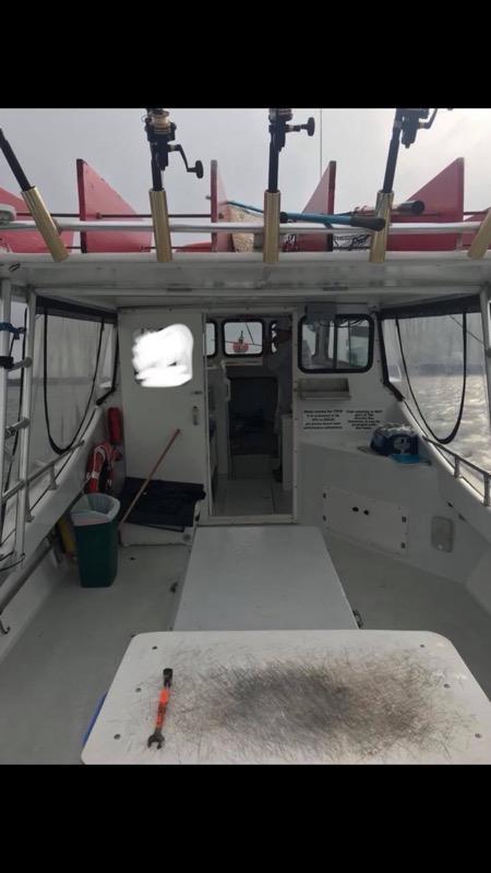 35' Evans Lobster Boat 1997 - Cat 350 HP For Sale